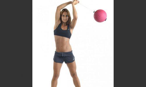 Силовая тренировка с шаром торнадо