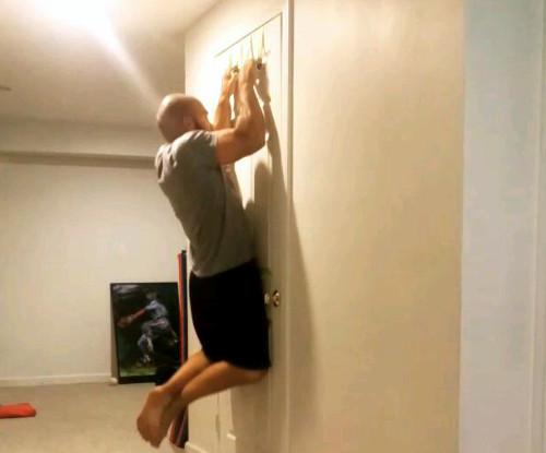 Doorway Pull-up Handles